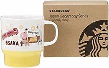 Starbucks Osaka Becher 2016 Japan Geography Serie