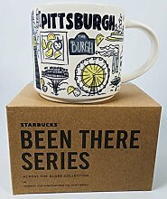 Starbucks Pittsburgh Becher Been There Serie