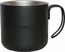 Starbucks Royal Black Schwarz Est. 1971 Mug Becher