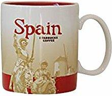 Starbucks Spanien (Espana) Global Icon Kaffee Tee Tasse 16Oz
