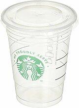 Starbucks Transparente Einwegbecher für kalte