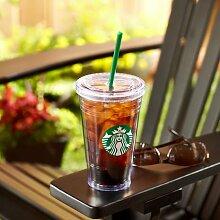 Starbucks Tumbler Becher Classic Cold to go Kaltgetränkebecher 16oz/473ml