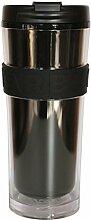 Starbucks Tumbler Core schwarz weiß 16oz/473ml (schwarz, 16oz/473ml)