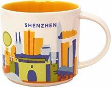 Starbucks You Are Here Serie Shenzhen Becher, 400