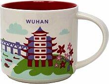 Starbucks You Are Here Serie Wuhan Becher, 400 ml
