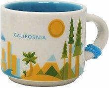 Starbucks You Are Here Series California