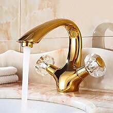 Stark und robustSchöne Form Luxuxgold Badezimmer