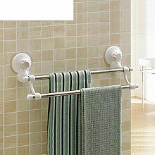 Starke Doppelsauger Handtuchhalter/ Sanitär/Handtuchhalter/Bad Doppel Rack