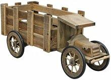 Starke E-10090 Gartendeko Holz Pflanzen-LKW