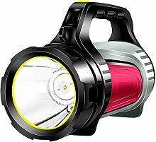 Starkes Licht Taschenlampe wiederaufladbare super
