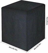 STARKWALL Black All-Purpose Square Waterproof BBQ