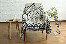 STARKWALL Bohemian Sofa Throw Blanket Boho Knit