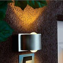 Starlux LED Außenwandleuchte / Außenleuchte / Lampe IP54 (Alba I)