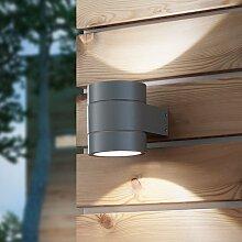 Starlux LED Außenwandleuchte / Außenleuchte / Lampe IP54 (Selva)