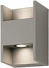 Starlux LED Außenwandleuchte / Außenleuchte / Lampe IP54 (Volto II)