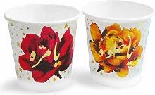 Stars & Roses Pappbecher von Rana Salam, 2er Set