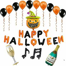 starter Halloween Aluminiumfolie Ballon Set -