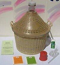 Starter-Set - WEINBALLON und Zubehör zum eigenen Herstellen von Wein (5 Liter)