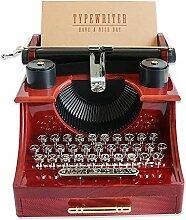 starter Spieldose - Alte Schreibmaschine Spieluhr