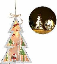 starter Weihnachtsschmuck, Szene Xmas Decor Holz