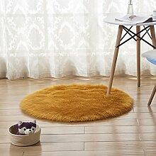 Startseite Runde Teppiche Fußmatten Teppich für Imitation Innendekoration ( Farbe : B , größe : 100CM )
