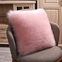 Startseite weichen einfarbigen Kissenbezug Sofa