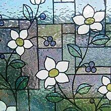 Statische Dekorfolie Fensterfolie für Fenster &