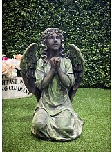 Statue Engel Betend Happy Larry