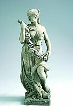 Statue Frühling, H 125, Steinfigur, Gartenfigur Farbe rostfarben