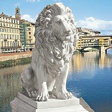 Statue Löwe von Florenz Design Toscano