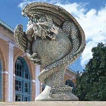 Statue Mystischer Drachen Design Toscano