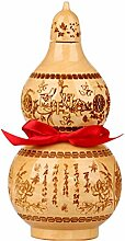 Statue/Wealth Lucky Figur Feng Shui Chinese Peach