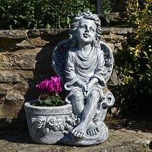 Statuen-Blumentopf Hibbard Garten Living