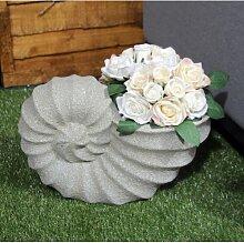 Statuen-Blumentopf Mccullen aus Keramik Garten