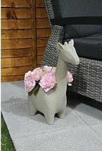 Statuen-Blumentopf Minehead aus Ton World Menagerie
