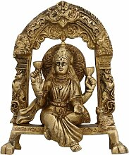 Statuen Und Figuren Göttin Laxmi Skulpturen Hindu