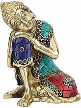StatueStudio Home Dekorative Denken Buddha Statue,