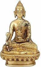 StatueStudio sitzender Buddha Idol Décor Statue,