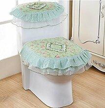 Staubabdeckung Textile Dreiteilige Toilette