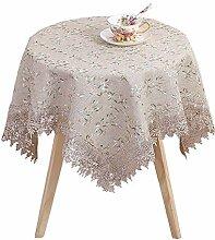 Staubdichte Tischdecke aus Spitze, dekorative