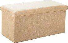 Stauräume aufbewahren Foldable Storage Hocker Aufbewahrung für Schuh Hocker mit Baumwolle und Leinen Finishing Hocker Einfache Tuch kann einen Hocker (Farbe optional) (Größe optional) Pedal ( Farbe : E , größe : 31*31CM )