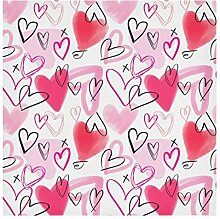 STAYTOP Stoffservietten für Valentinstag,