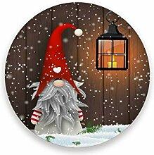 STAYTOP Weihnachtliche saugfähige Untersetzer