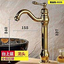 STAZSX Antike Waschbecken Wasserhahn