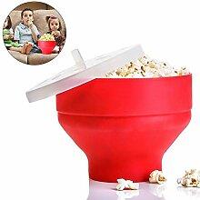 Steadyuf Popcorn Popper, Mikrowelle Silikon
