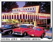 Steak and Shake Original USA-Blechschild