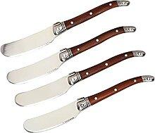 steakbesteck Palisandergriff Edelstahl Messer