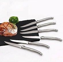 Steakmesser 6 stücke Edelstahl Steakmesser Set