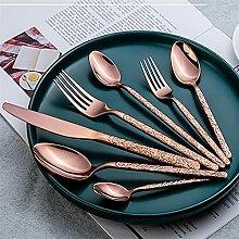 Steakmesser Edelstahl Western Besteck Set Messer