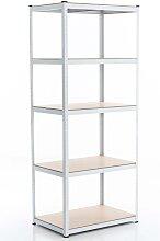 Steckregal, verschiedene Größen-weiß-90x40x220